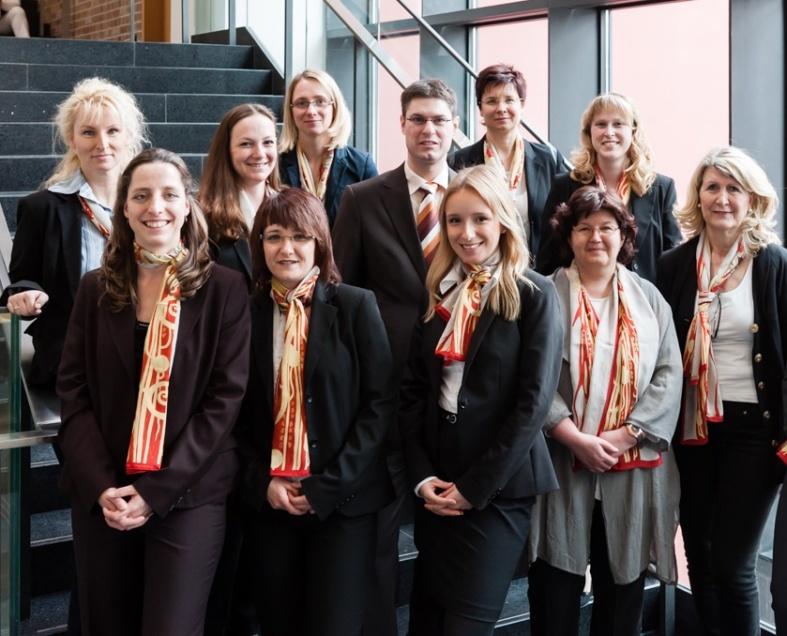 MitarbeiterInnen der Geschäftsstelle OPK in Leipzig